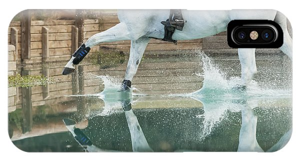 Splashy Reflection IPhone Case