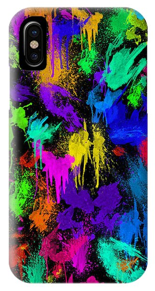 Splattered One IPhone Case