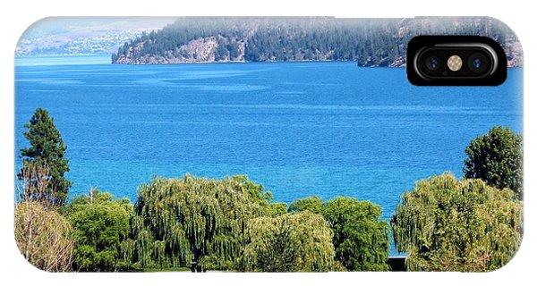 Oyama iPhone Case - Splendid Kalamalka Lake by Will Borden