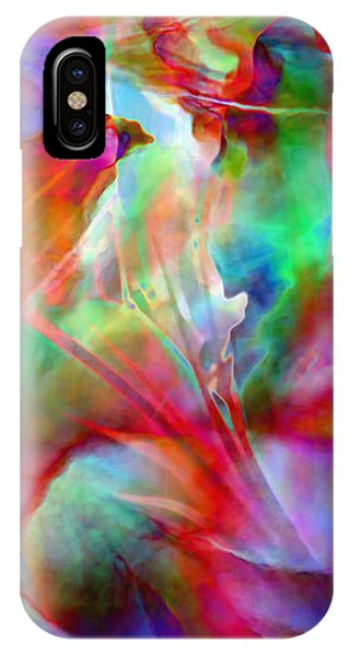 IPhone Case featuring the painting Splendor - Abstract Art by Jaison Cianelli