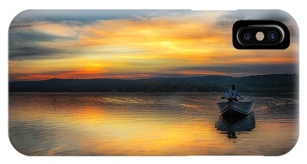 Splendor On The Lake IPhone Case