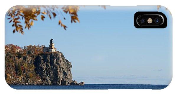 Split Rock Leaves IPhone Case