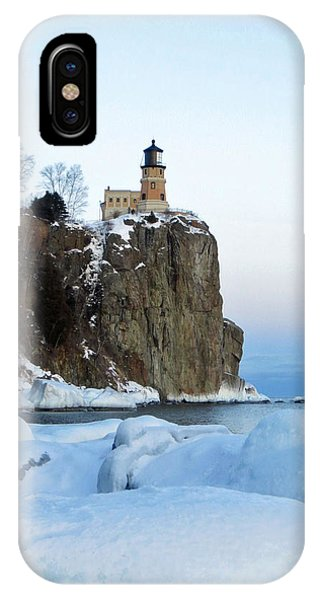Lake Superior iPhone Case - Split Rock Lighthouse by Alison Gimpel