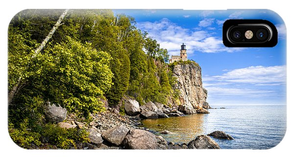 Split Rock Shoreline IPhone Case