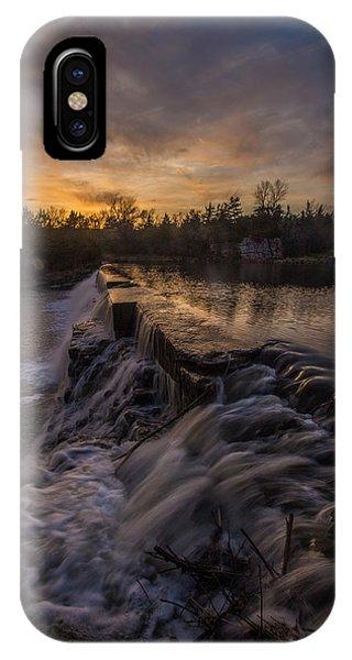 Split Rock iPhone Case - Split Rock Sunset 2 by Aaron J Groen