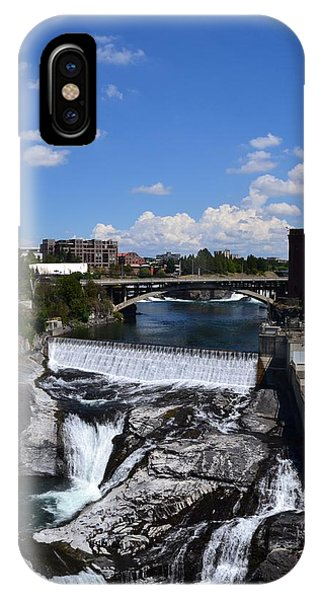 Spokane Falls And Riverfront IPhone Case
