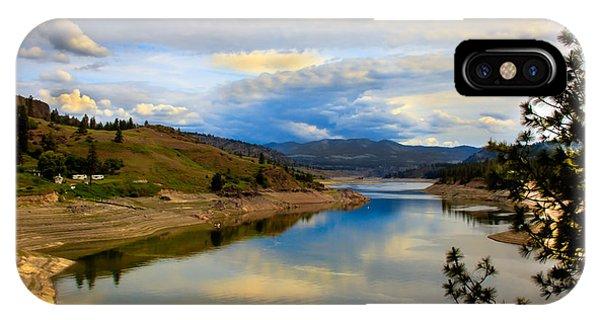 Spokane River IPhone Case