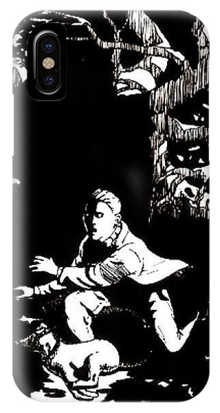 Spooks In The Woods Phone Case by Brad Simpson
