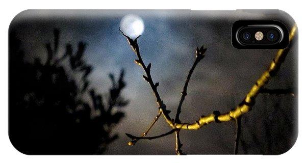 Spooky Moon IPhone Case