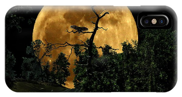 Spooky Road IPhone Case