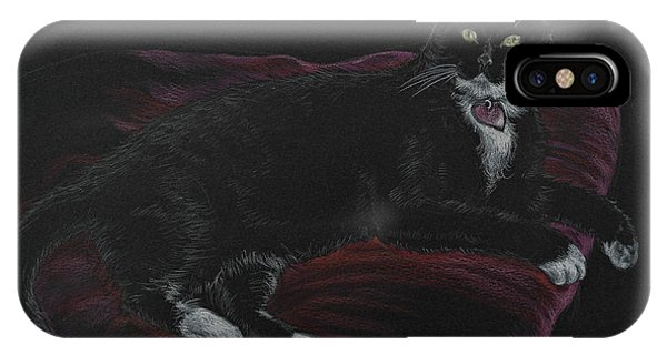 Spooky The Cat IPhone Case