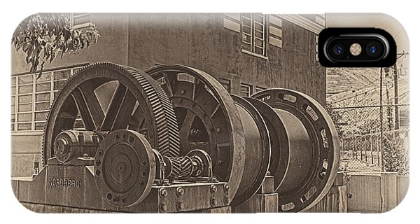 Spools And Gears IPhone Case