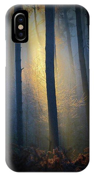 Beam iPhone Case - Spotlight by Markus Hendel