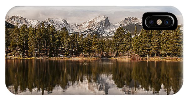 Sprague Lake Reflection In The Morning IPhone Case