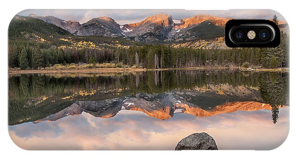 Sprague Lake Sunrise 2 IPhone Case