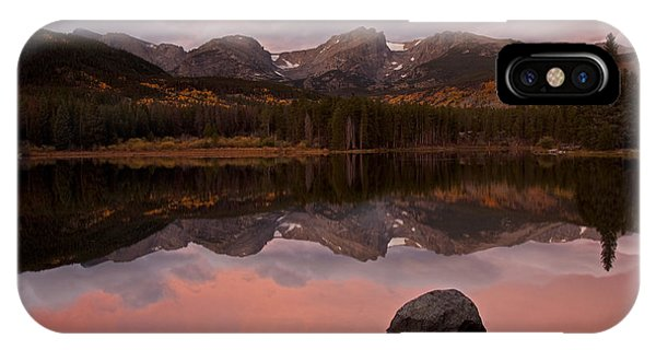 Sprague Lake Sunrise IPhone Case