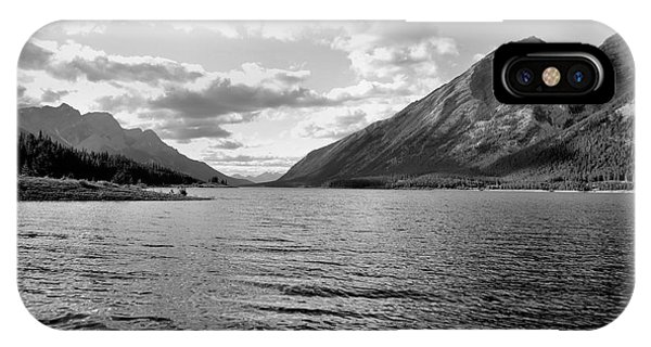 Spray Lake IPhone Case