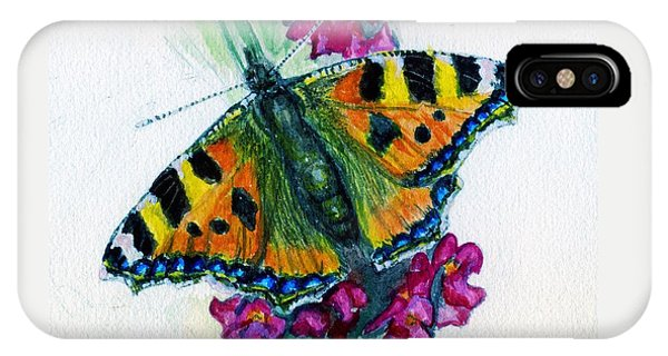 Spreading Wings Of Colour IPhone Case