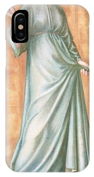 Pre-modern iPhone Case - Spring, 1869-70 Gouache On Paper by Sir Edward Coley Burne-Jones