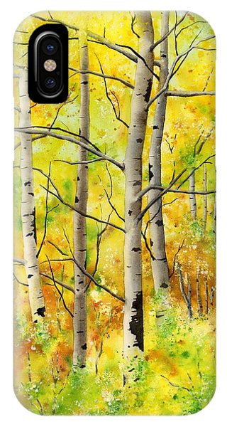 Spring Aspens IPhone Case