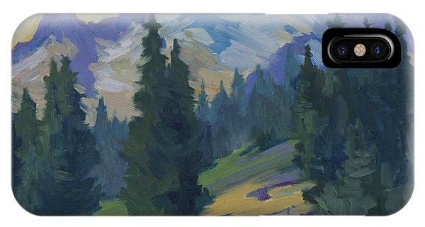 Spring At Mount Rainier IPhone Case