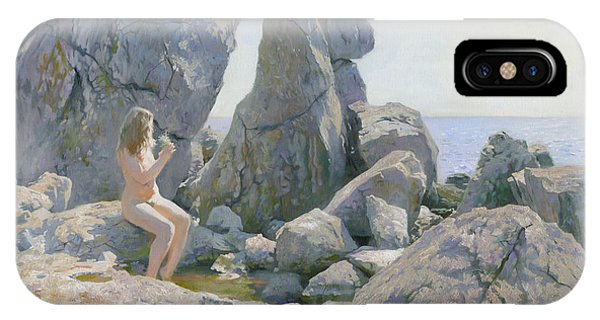 iPhone Case - Spring At The Rock Shore  by Denis Chernov