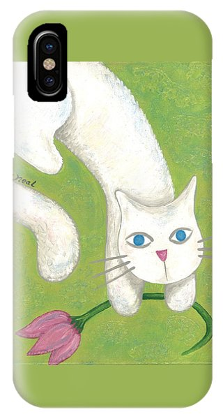 Spring Cat IPhone Case