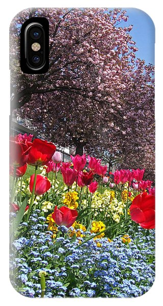 Spring Flowers - Edinburgh IPhone Case