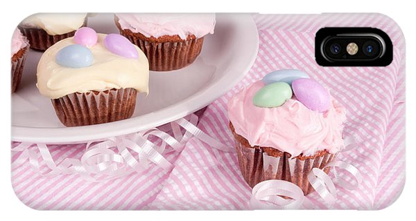 Cupcakes With A Spring Theme IPhone Case