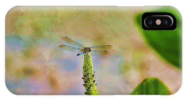 Lillie iPhone Case - Spring Damsel by Deborah Benoit