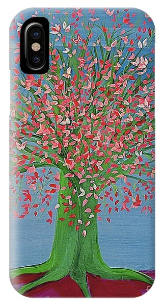 Spring Fantasy Tree By Jrr IPhone Case