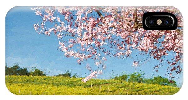 Mustard iPhone Case - Spring Fling by John K Woodruff