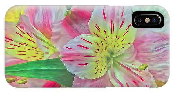 Spring Flowers Digitally Painted IPhone Case