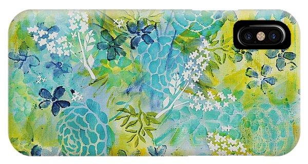 iPhone Case - Spring Garden by Julie Acquaviva Hayes