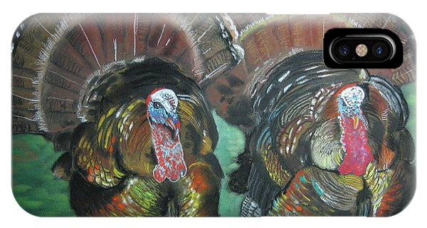 Spring Gobblers IPhone Case