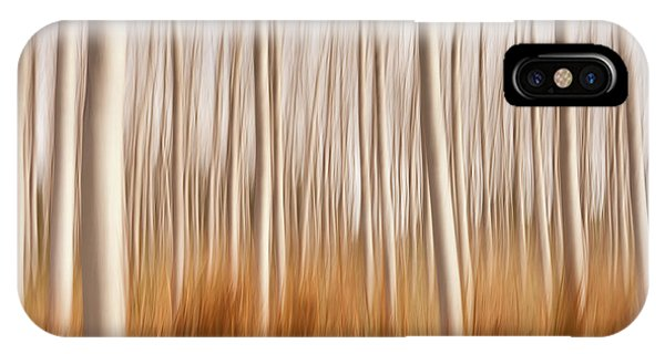 Spain iPhone Case - Spring Impressions In A Poplar Fields by David Frutos
