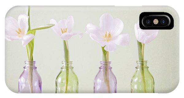 Wiese iPhone Case - Spring In A Bottle by Steffen Gierok