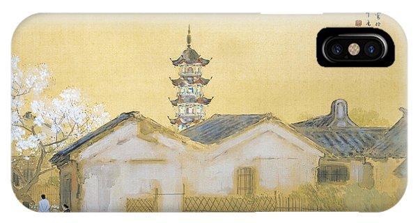 Spring In Jiangnan IPhone Case