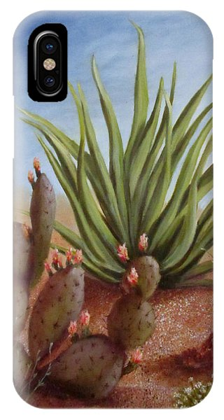 Spring In The Desert IPhone Case