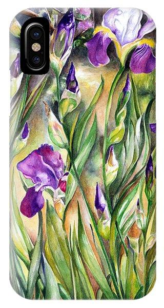 Spring Iris IPhone Case