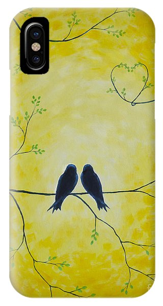 Spring Is A Time Of Love IPhone Case