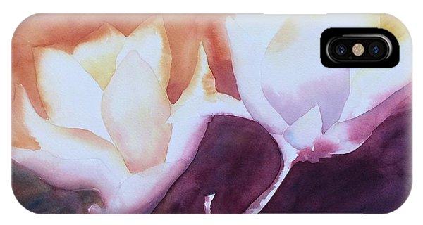 Spring Magnolias IPhone Case