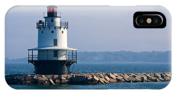 Spring Point Lighthouse IPhone Case