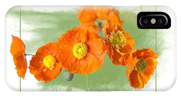 Spring Poppy IPhone Case