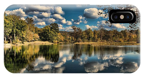 Spring River Autumn IPhone Case