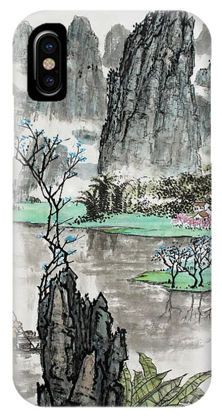 Spring River II IPhone Case