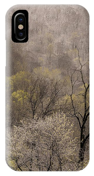 Spring Snow Phone Case by Tom  Reed