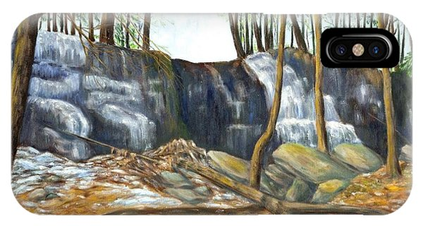 Spring Thaw In The Ravine IPhone Case