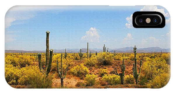 Spring Time On The Rolls - Arizona. IPhone Case