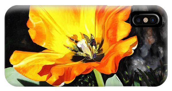Spring Tulip IPhone Case